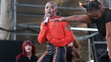 Tinashe, at the Billboard 100 Festival at Northwell