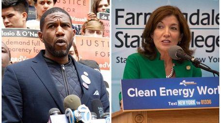 Jumaane Williams is challenging incumbent Lt. Gov. Kathy