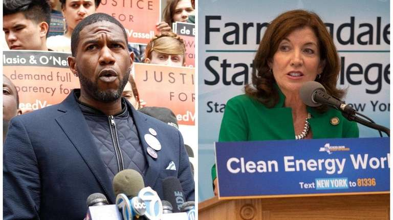 Jumaane Williams is challenging incumbent Lt. Gov. Kathy