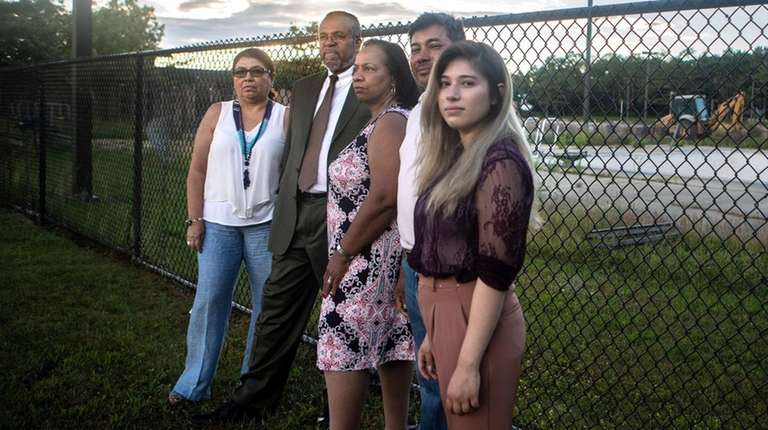 Four Brentwood residents are suing to dismantle Islip