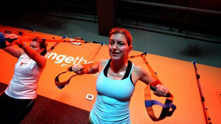 Orangetheory Fitness, a new franchise chain, has 13
