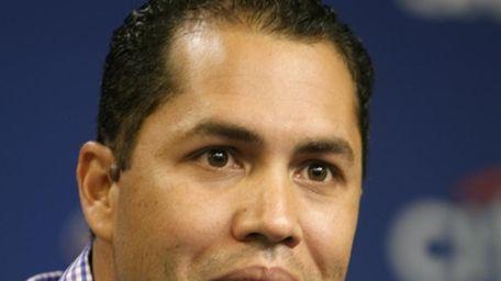Mets outfielder Carlos Beltran, who is making progress