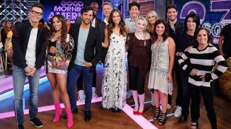 "The cast of season 27 of ""Dancing With"