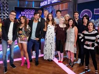 """The cast of season 27 of """"Dancing With"""