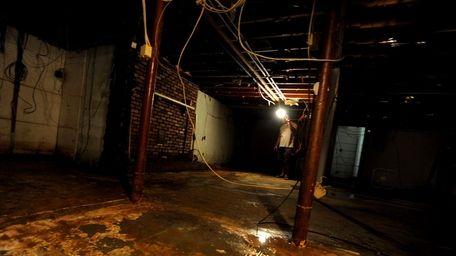 Rich Palacios' basement in Medford is still flooded