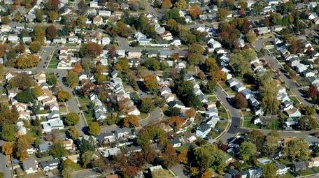 A neighborhood in Nassau County near Hempstead Turnpike.