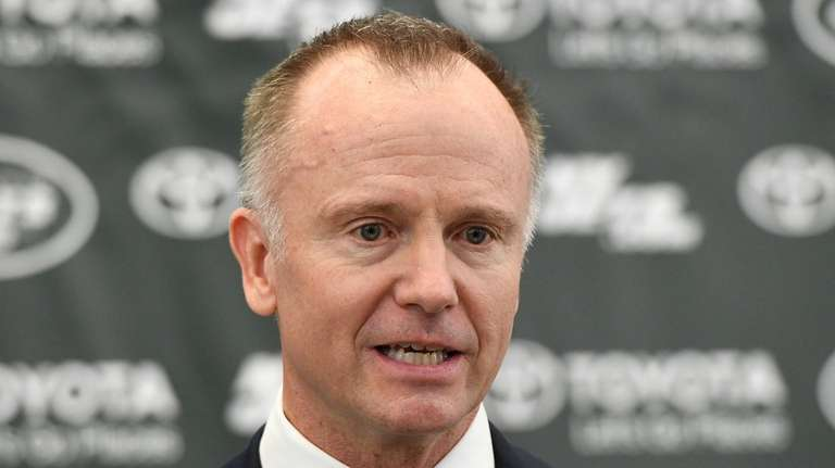 Jets Chairman and CEO Christopher Johnson speaks to