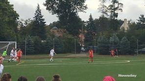 Sacred Heart girls soccer defeated Garden City, 4-1,