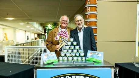 Ben Cohen, left, and Jerry Greenfield, co-founders of