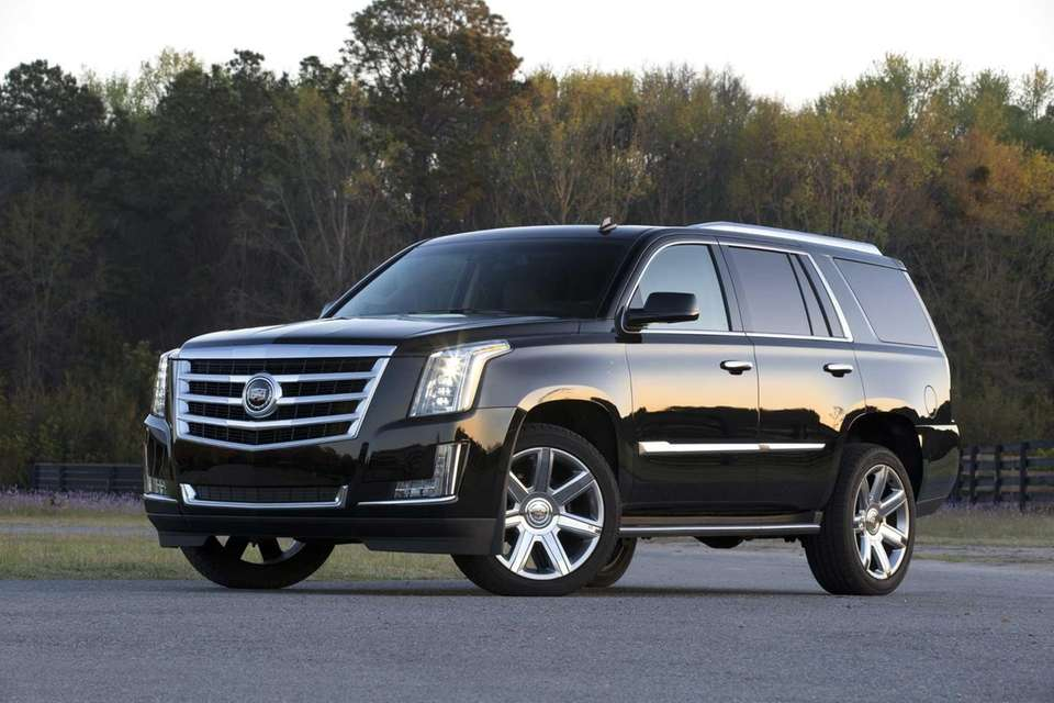 2015 Cadillac Escalade will be shown at the