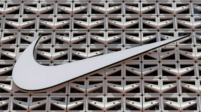 The Nike logo at a store in Miami