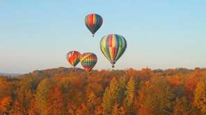 The classiest way to see fall colors has