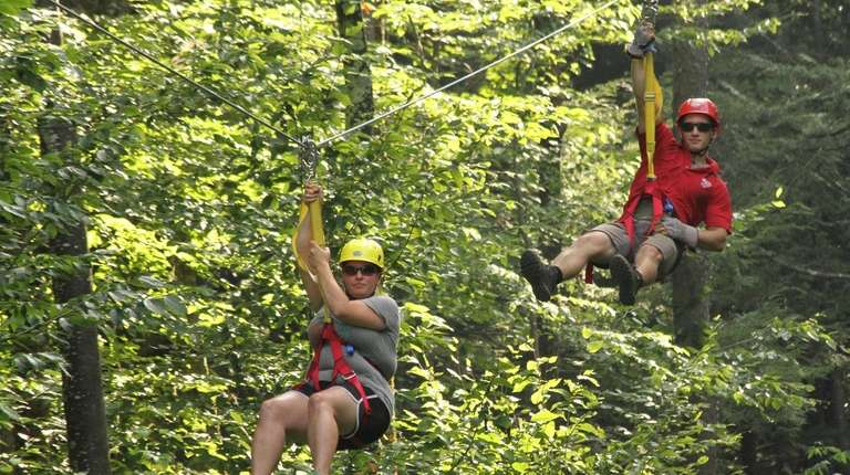 New England's largest zip line park is in