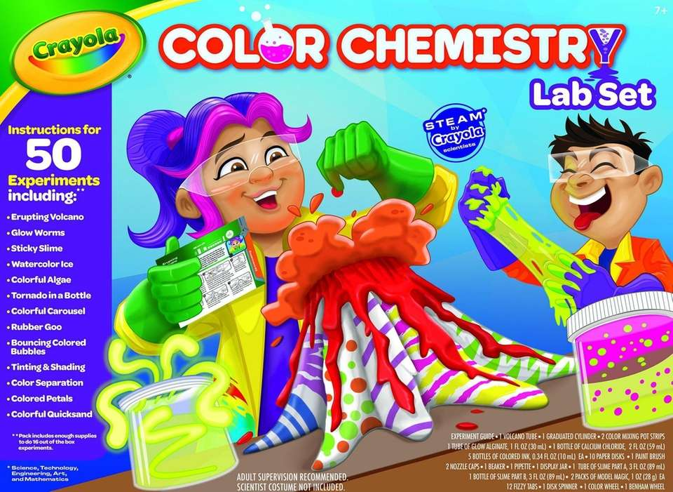Budding chemists can explore color and create science