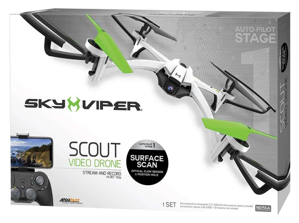 The Sky Viper Scout Video Drone from Skyrocket