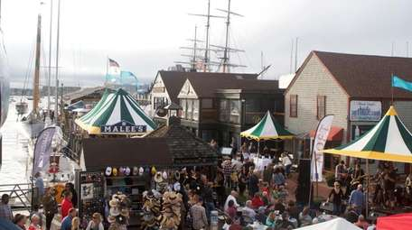 Bowen's Wharf Seafood Festival, Oct. 13-14; Bowens Wharf,