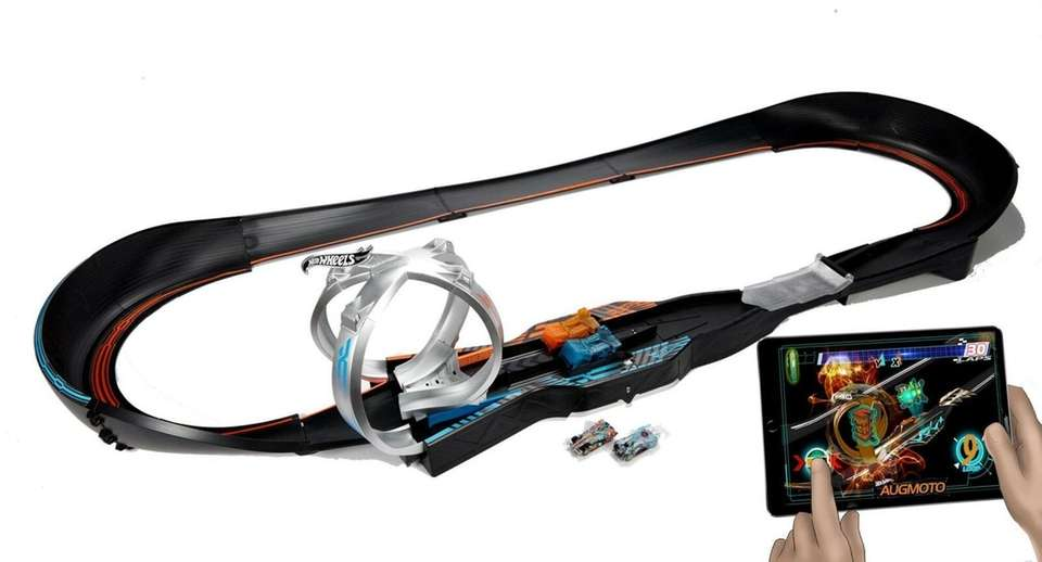 Mattel's Hot Wheels Augmoto brings video game play