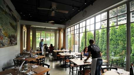 Exile Bar & Grill in Amagansett offers patrons