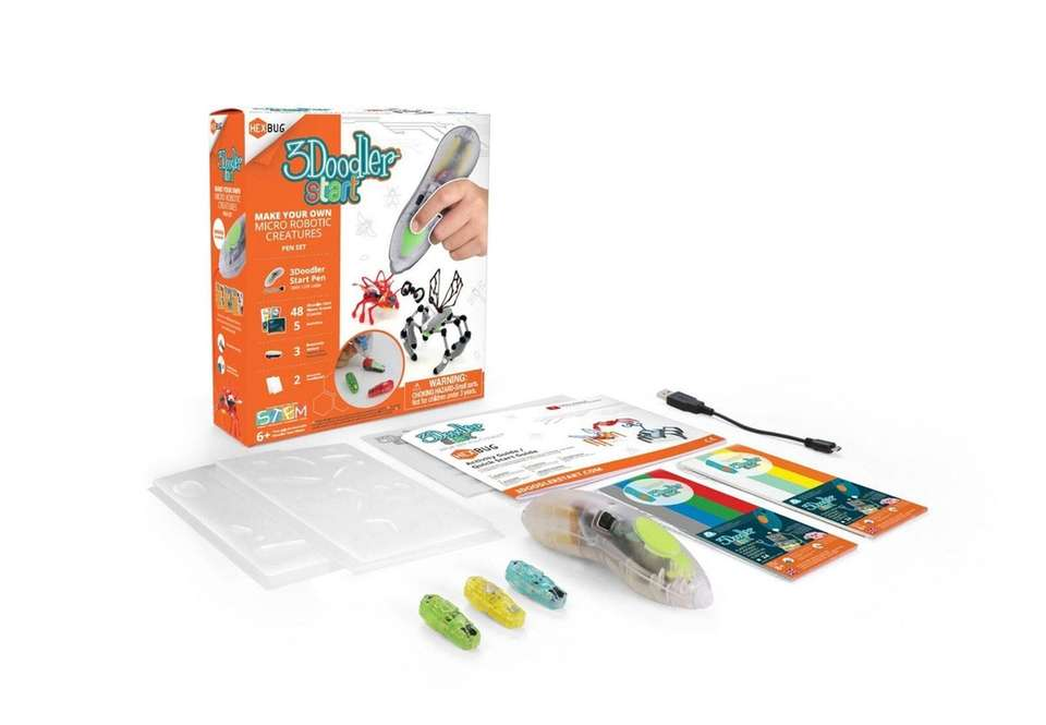 Create Hexbug creatures that behave like real bugs.