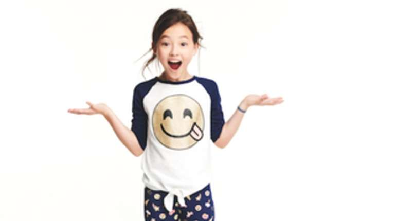 A graphic tee and leggings from OshKosh B'gosh