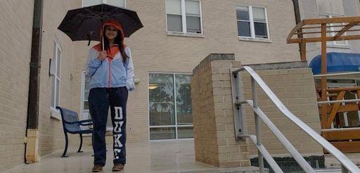 Smiti Shah, 18, on the campus of Duke