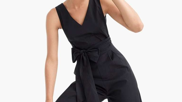 This slightly stretchy jumpsuit is a wear-anywhere wardrobe