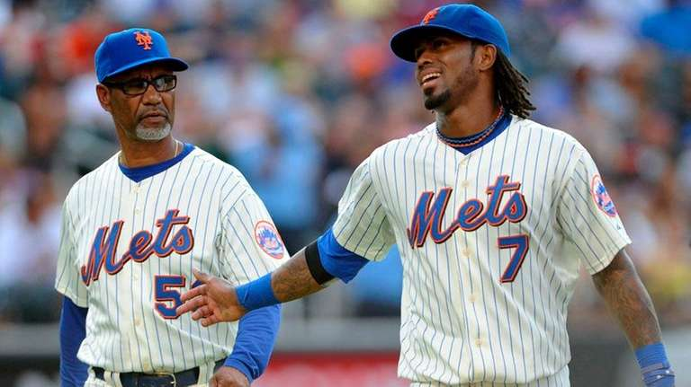 Jerry Manuel and Jose Reyes enter the All-Star
