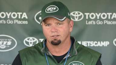 New York Jets special teams coordinator Brant Boyer