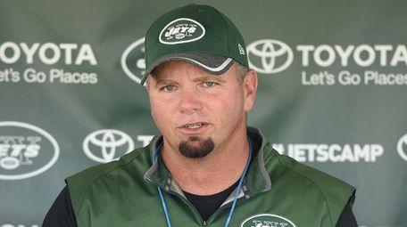 New York Jets special teams coordinator Brant Boyer