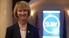 Kristina M. Johnson, the 13th chancellor of the