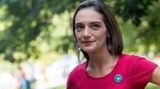 Democratic New York state Senate candidate Julia Salazar