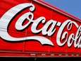 The Coca-Cola logo on the side of a