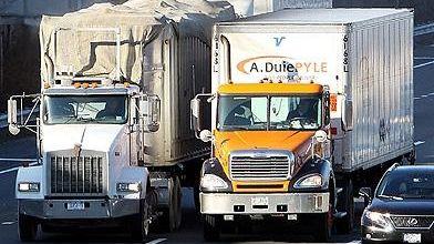 Trucks on the LIE
