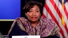 New York Senate Democratic Conference Leader Andrea Stewart-Cousins,
