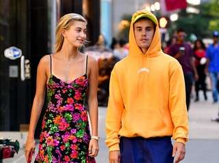 Hailey Baldwin and Justin Bieber seen on the