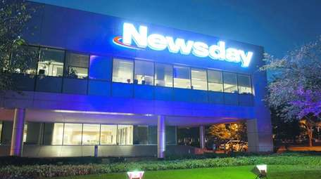 Newsday's headquarters on Pinelawn Road in Melville.