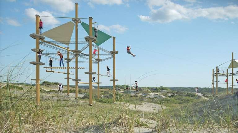 A rendering from WildPlay Element Parks of the