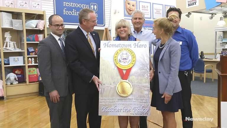 On Friday, the Town of Hempstead recogized Katherine