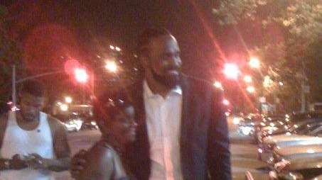 New Knick Ronny Turiaf poses for a picture