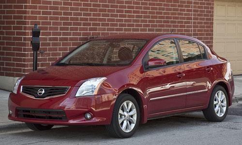 2010 Nissan Sentra front image