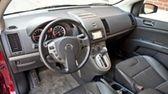 2011 Nissan Sentra interior.
