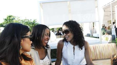 Julissa Garris (from left), Cynthia Fletcher and Gisselle