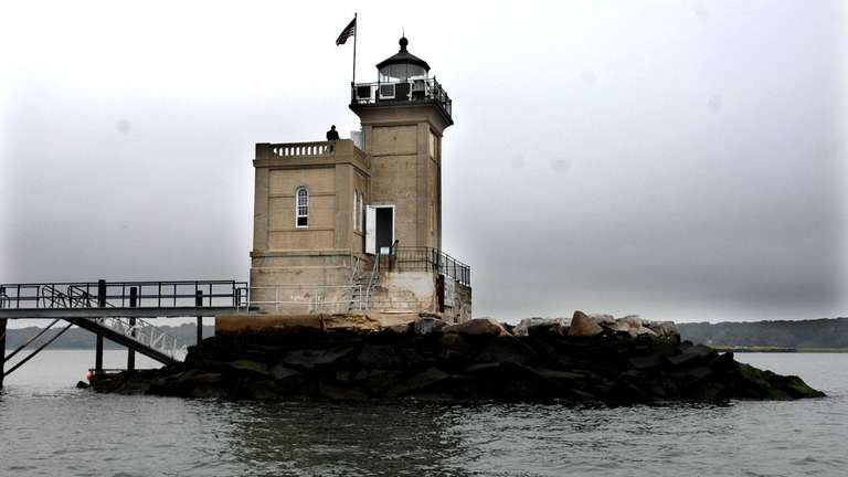 The Huntington Lighthouse is up for sale. (Oct.