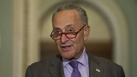 Sen. Chuck Schumer in Washington on Aug. 21.