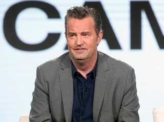"""Matthew Perry of the TV show """"The Kennedys"""