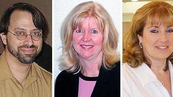 Three health officials