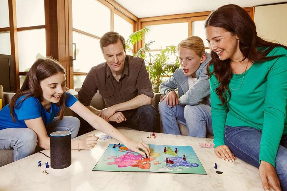 This family board game is the first to