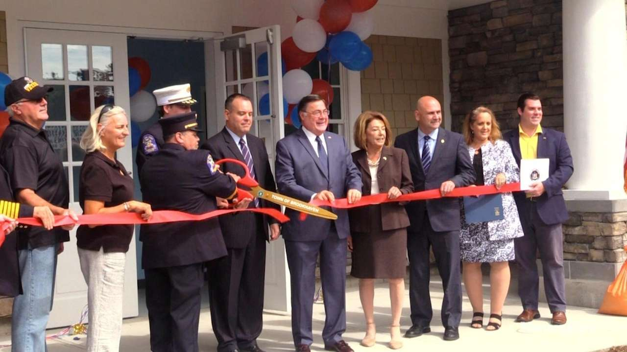 Brookhaven officials held a ribbon-cutting ceremony on Monday for