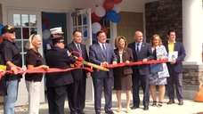 Brookhaven officials held a ribbon-cutting ceremony on Mondayfor