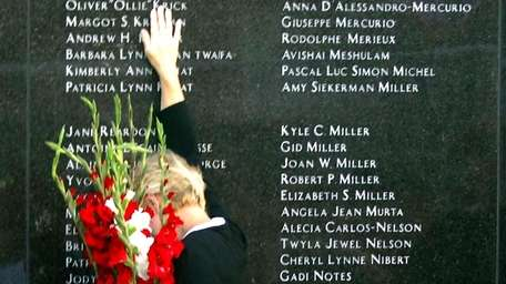 Loved ones are remembered at the TWA Flight